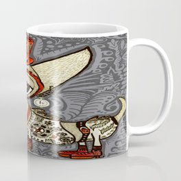 Steampunk Chihuahua Victorian Ornate Coffee Mug