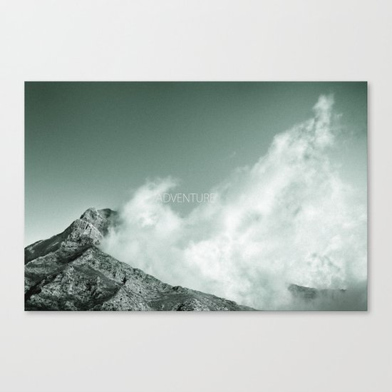 """Adventure at the mountain"" Canvas Print"