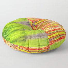 Nuclear Cell Spindle Pattern Floor Pillow
