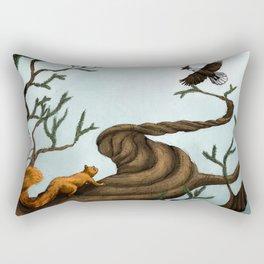 Ratatosk and the Eagle Rectangular Pillow