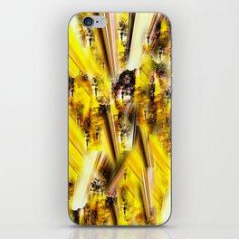 Purple Yellow 2 iPhone Skin