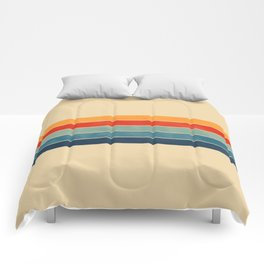 retro stripes Comforters