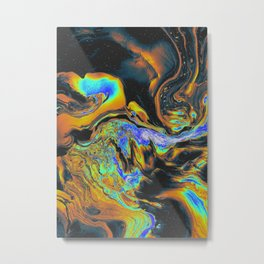 BLUE SUPREME VULNERABILITY Metal Print
