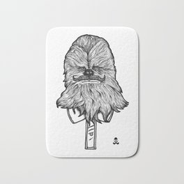 Mustache Wookiee Bath Mat