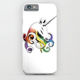 Octopus Unicorn iPhone Case