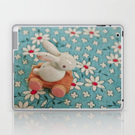 Bunny Blues Laptop & iPad Skin