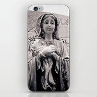 religion iPhone & iPod Skins featuring Graveside religion by Vorona Photography