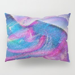 Colorful Hurricane Digital Painting Pillow Sham
