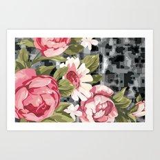 flowwwer pattern Art Print