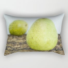 One Pair, Two Pears Rectangular Pillow
