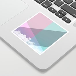 Colorful sky Sticker