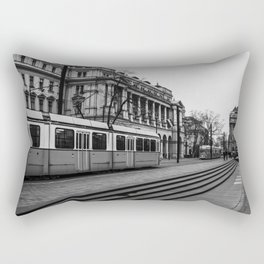 Passing. Rectangular Pillow