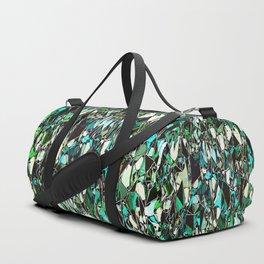 Abstract Geometric Configuration Duffle Bag