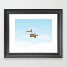 Finally Allowed to Fly Framed Art Print