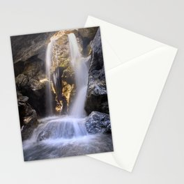 Bolos Waterfall. Sierra Nevada Stationery Cards