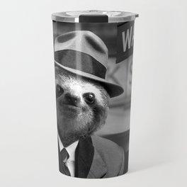 Sloth in Wall Street Travel Mug