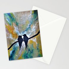 Valentines Love Birds Stationery Cards