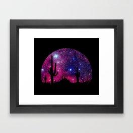 Noche caliente Framed Art Print
