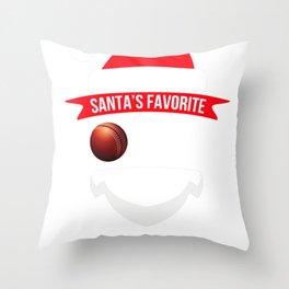 santafave coach cricket Throw Pillow