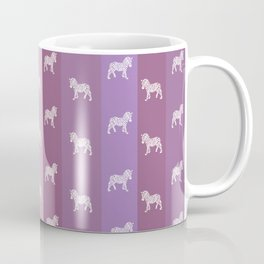 Zebra Pattern Coffee Mug