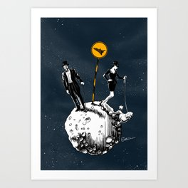 Interstellars Art Print
