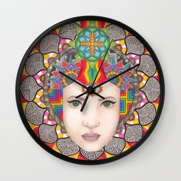 Eye for an I Wall Clock