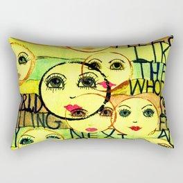 My Next Act Rectangular Pillow