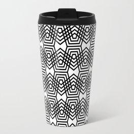 Op Art 169 Travel Mug