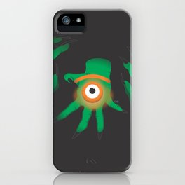 the graeae eye iPhone Case