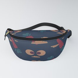 A rabbit that loves carrots. Fanny Pack