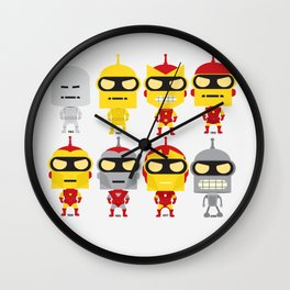 BENDER EVOLUTION Wall Clock