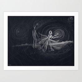 dark love Art Print