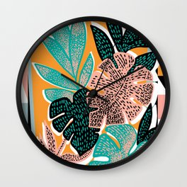 tropicana Wall Clock