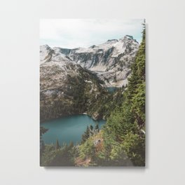 Alpine Lakes in the North Cascades Metal Print