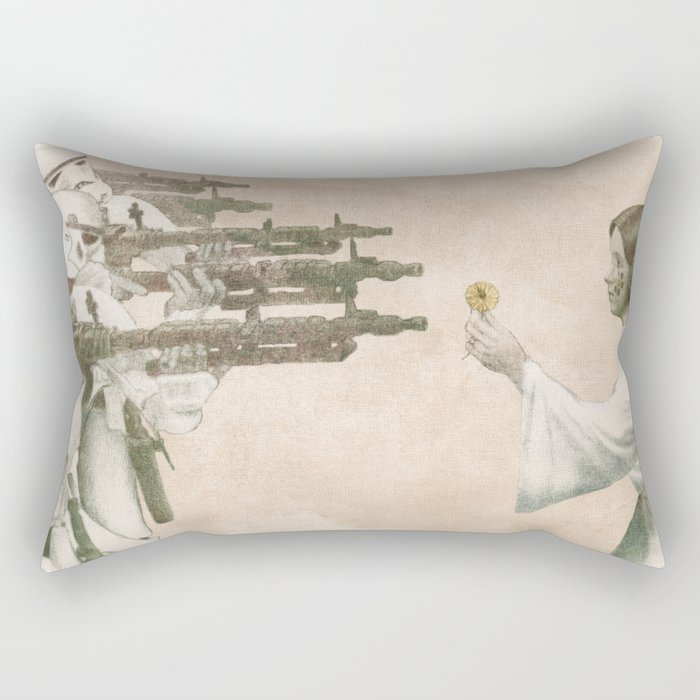 Flowers for Alderaan Rectangular Pillow