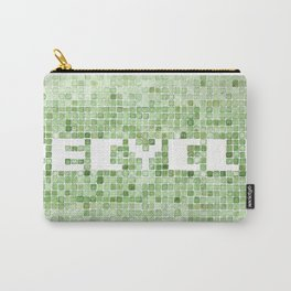 Recycle watercolor mosaic Carry-All Pouch