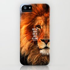 BOLD AS LIONS iPhone (5, 5s) Slim Case