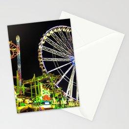 Luna Park by night Stationery Cards