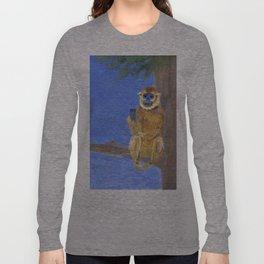 Sammy the Snub Nosed Golden Monkey Long Sleeve T-shirt