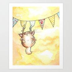 Happy Monster Art Print