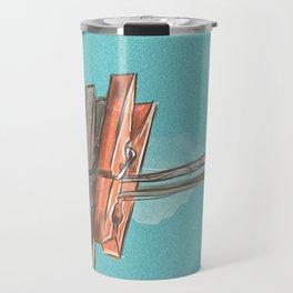 Boho Clothespin Travel Mug