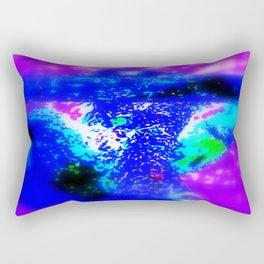 Blue Barque Mad Rectangular Pillow