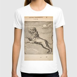 Hugo de Groot's Syntagma Arateorum 1600 - 10 Leo T-shirt
