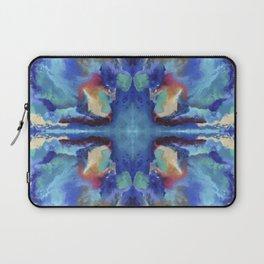 Watercolor Rorschach Laptop Sleeve