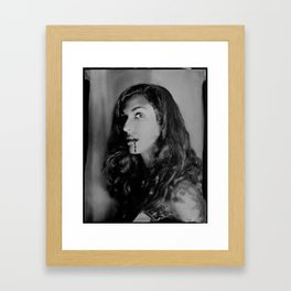 Blood Drips - 8x10 Tintype Photo Framed Art Print