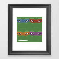 Teenage Mutant Ninja Turtles - TMNT Framed Art Print