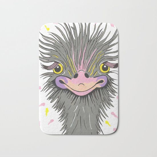 Hair Raising Day Bath Mat