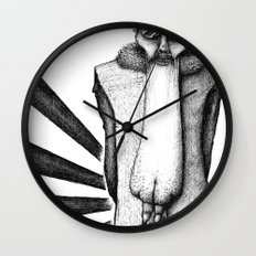 ASS FACE Wall Clock