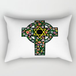 Cross of David Rectangular Pillow