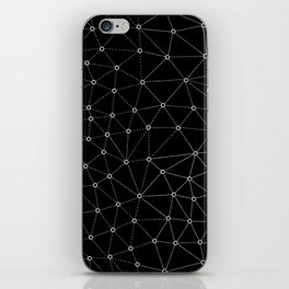 African Triangle Black iPhone Skin